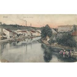 Nábřeží Židovské čtvrti 1910