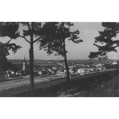 Pohled ze Strážné hory (Kostelíčku) 1941