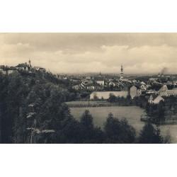 Vyhlídka z altánku za nemocnicí 1942