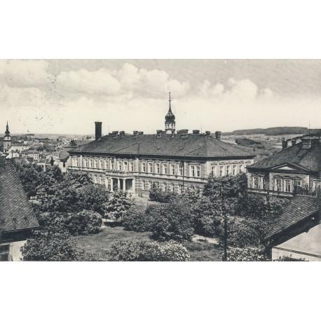 Hlavní budova nemocnice 1935