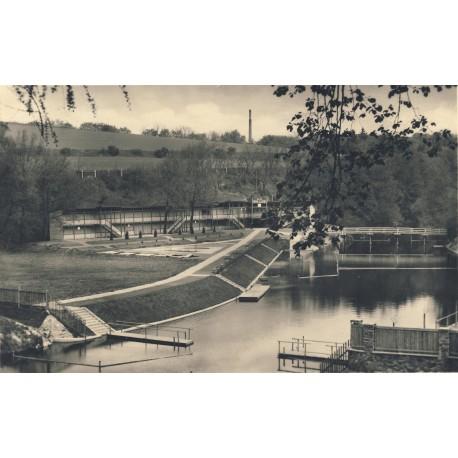 Městské říční lázně Polanka 1938