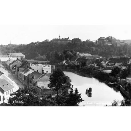 Pohled z vyhlídky na Hrádku 1940