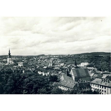 Pohled na střed města 1962